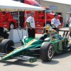 Takuma Sato's Car at 2010 Indy Pole Day